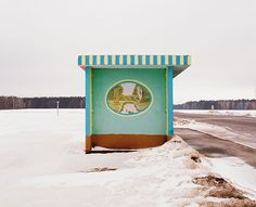 Colorful Bus Stops Across Belarus By Alexandra Soldatova