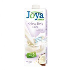 Lahodná chuť kokosu v kombinácii s jemnou a prírodzene sladkou chuťou ryža je ideálne osvieženie na leto. A to najlepšie nakoniec: nie je tam žiadny cukor a žiadne pridané ochucovadlá! Nápoj je výborný čistý, v káve, na cereálie, na pečenie, alebo dokonca aj ako základ na efektné kokteily. JOYA ryžovo kokosový nápoj si môžete vychutnať na mnoho spôsobou. Zloženie: ryžý základ 97% (voda, ryža 11,9%), kokosové mlieko v prášku 3%,  soľ. Bez pridaného cukru.