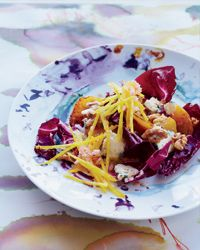 Double-Beet Salad with Radicchio & Blue Cheese Recipe - Food and Wine - Deborah Madison