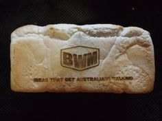 A recent client, BWM Agency, requested laser cutting. We offered to laser cut a loaf of bread with their advertised logo. Melbourne, Laser Engraving, Engraving Ideas, Food Preparation, Laser Cutting, Stationery, Bread, Crafty, Advertising Agency
