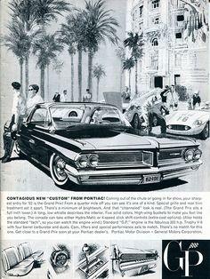 1962 Pontiac Gran Prix Advertising Car and Driver Magazine November 1961   Flickr - Photo Sharing!