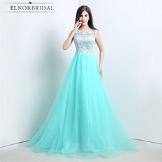 Cheap robe de soiree, Buy Quality robe de directly from China vestido de festa Suppliers: 2017 Turquoise Cheap Long Evening Dresses Scoop Lace Tulle A Line Plus Size Prom Party Dress Robe De Soiree Vestido De Festa Evening Dresses Online, Cheap Evening Dresses, Cheap Prom Dresses, Evening Gowns, Cheap Dress, Evening Party, Prom Dresses Under 100, A Line Prom Dresses, Prom Party Dresses