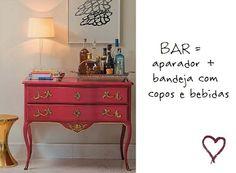bandeja bar decoracao - Pesquisa Google