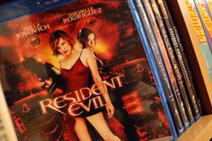 Resident Evil Movies on Blu-ray