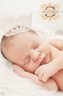 A Wee Lil Princess Crown Tutorial | Morgan Kervin Photography