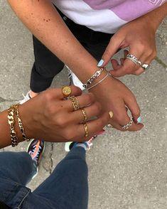 #Camillebrinch Gold & Silver mix 💖  #Smykker #Jewellery #Feminine #Rå