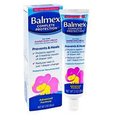 Balmex Complete Protection Diaper Rash Cream 2 oz Per Tube 2 Pack * Click image for more details.-It is an affiliate link to Amazon.