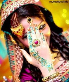 Beautiful bridal dp for facebook 2013 - Facebook Display Pictures