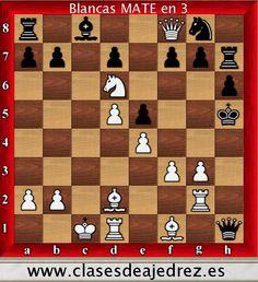 Mate en tres! http://www.clasesdeajedrez.es/problemas-de-ajedrez/… #ajedrez #chess @ChessClubLive