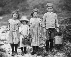 Women and child workers early 1900s