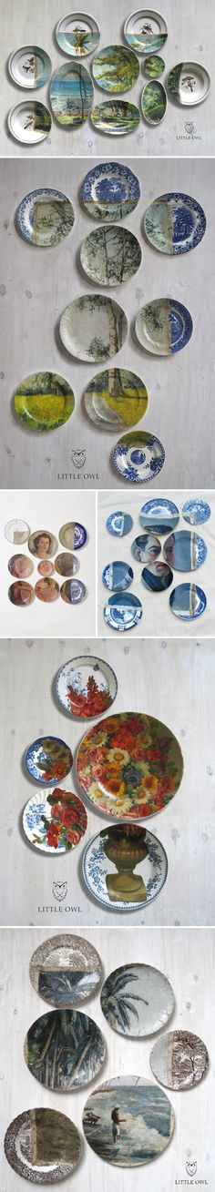 """'Altered Perspectives,byLittle Owl Design – akaBruce Wayland and Marcello de Simone. They are collaborating artists from the Netherlands with """"interests are in Art History, Fine Arts, Fashion, Design, Culinary World, Horticulture & Travel.""""'"""