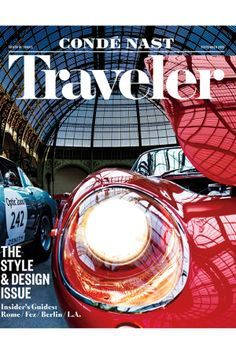 Condé Nast Traveler's September 2015 issue will feature a larger trim size along with a new style-focused front of book section.