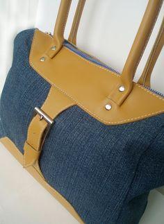 Блогнотик одной рукодельницы: Джинсовая сумка