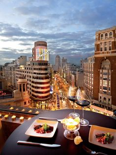 Madrid rooftop restaurant and bars- Callao Corte Ingles Gourmet experience