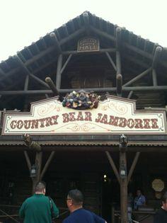 The Country Bear Jamboree!