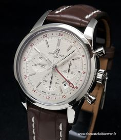 Montre homme Breitling Transocean Chronograph GMT - BaselWorld 2013