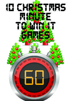 """10 FREE Christmas """"Minute to Win It"""" Games for Kids"""