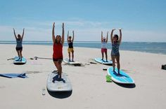 Paddleboard yoga at Surf the Earth on Pawley's Island #MYRDreamVacation