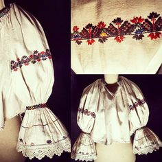 Folk Costume, Costumes, Folk Embroidery, Moldova, Cross Stitch Patterns, Bucket Bag, Traditional, Instagram Posts, Fashion