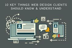If you're a web design client, there are a few key web design areas you should focus on, and endeavour to fully know about and understand.