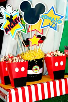 Mickey Mouse Party Centerpiece - Amanda's Parties To Go