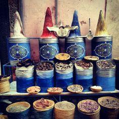 #marocco #spezie #mercato