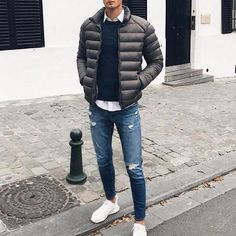 GQ Fashion — More Men's Fashion & Lifestyle At. GQ Fashion — More Men's Fashion & Lifestyle At. Source by . Winter Outfits Men, Stylish Mens Outfits, Casual Outfits, Men Casual, Smart Casual, Men's Outfits, Simple Outfits, Fall Outfits, Gq Fashion