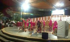 Garba competition 2013 at Gyan Sagar Amphitheatre,  Borivali West, Mumbai, Maharashtra, India
