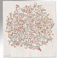 """Aha! moments, 57"""" x 54"""", 2011"""