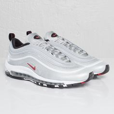 05404689bbb Nike Air Max 97 Hyperfuse Premium  Metallic Silver Varsity Red-Black  Nike