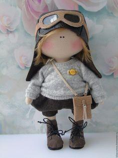 Купить Текстильная кукла Малыш Ник - текстильная кукла, текстильные куклы, интерьерная кукла
