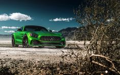 Front, landscape, Mercedes-Benz AMG GT, outdoor