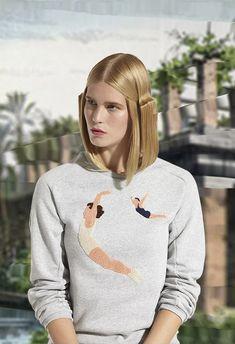 """OMSK Belgium """"DRAGON JUMPERS"""" sweatshirt.  http://www.viraltimez.com"""