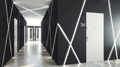 Drzwi Gradara, kolekcja DISCRET VERTE/Entra. Produkt zgłoszony do konkursu Dobry Design 2018. Low Key