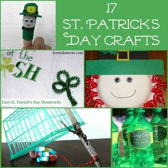 17 St. Patrick's Day Crafts #stpatricksday