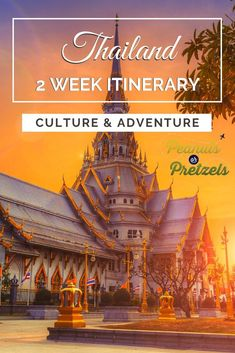 Start planning a trip to Thailand with our travel itinerary. Our 2 week Thailand Itinerary includes the best places to visit in Thailand. Thailand Destinations, Thailand Travel Guide, Asia Travel, Backpacking Thailand, Travel Destinations, Croatia Travel, Bangkok Thailand, Hawaii Travel, Holiday Destinations