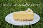 Mango cheesecake #zivetizdravo #mangocheesecake #vegancake