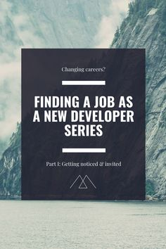 Part 1 in the getting a job as a new developer series. This part is about getting noticed by companies and recruiters, how to get invited for an interview as a developer without prior experience in a coding job. Get My First Job, Coding Jobs, Linkedin Page, How To Make Resume, Coding Languages, List Of Skills, Website Maintenance, My Resume, Know What You Want