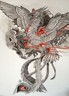 Japanese phoenix tattoo                                                                                                                                                     More