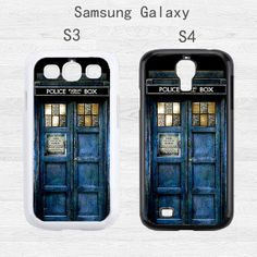 Samsung Galaxy S5 Case TARDIS Doctor Who Samsung Galaxy S3 Case,Tardis Dr Who Galaxy S4 Case,cover skin Case for  rubber case, More styles on Etsy, $7.88