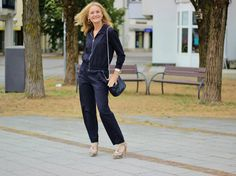Stylish Salat: BLACK JUMPSUIT