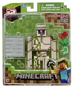 Minecraft Iron Golem Action Figure Minecraft http://www.amazon.com/dp/B00HLV78GA/ref=cm_sw_r_pi_dp_LCE8tb0CD8Q4Q