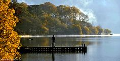 © North News & Pictures  woody jetty in Ulswater, Cumbria