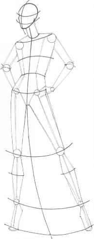 8714 Drawing Fashion Bodies Photos