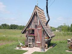 Shed Inspiration: 12 Recycled, Reclaimed