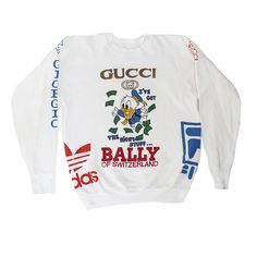 e040866fb80 Ultimate Bootleg Logo Donald Duck Gucci Sweatshirt... Click the link in bio  to see it in our website