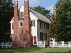 Palmer-Marsh House, Bath, North Carolina, 1744.
