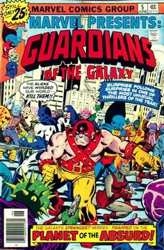 """It's bad enough Steve Gerber wrote this issue (and a subplot in """"Defenders"""" where an armed elf ran around like a non-sequitor), he has the G-unit land on Planet Arkham!"""