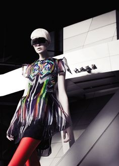 Addicted to Fashion Editorials...Futuristic Fashion in Australia