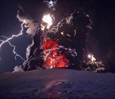 Eruption Eyjafjallajokull, March 2010